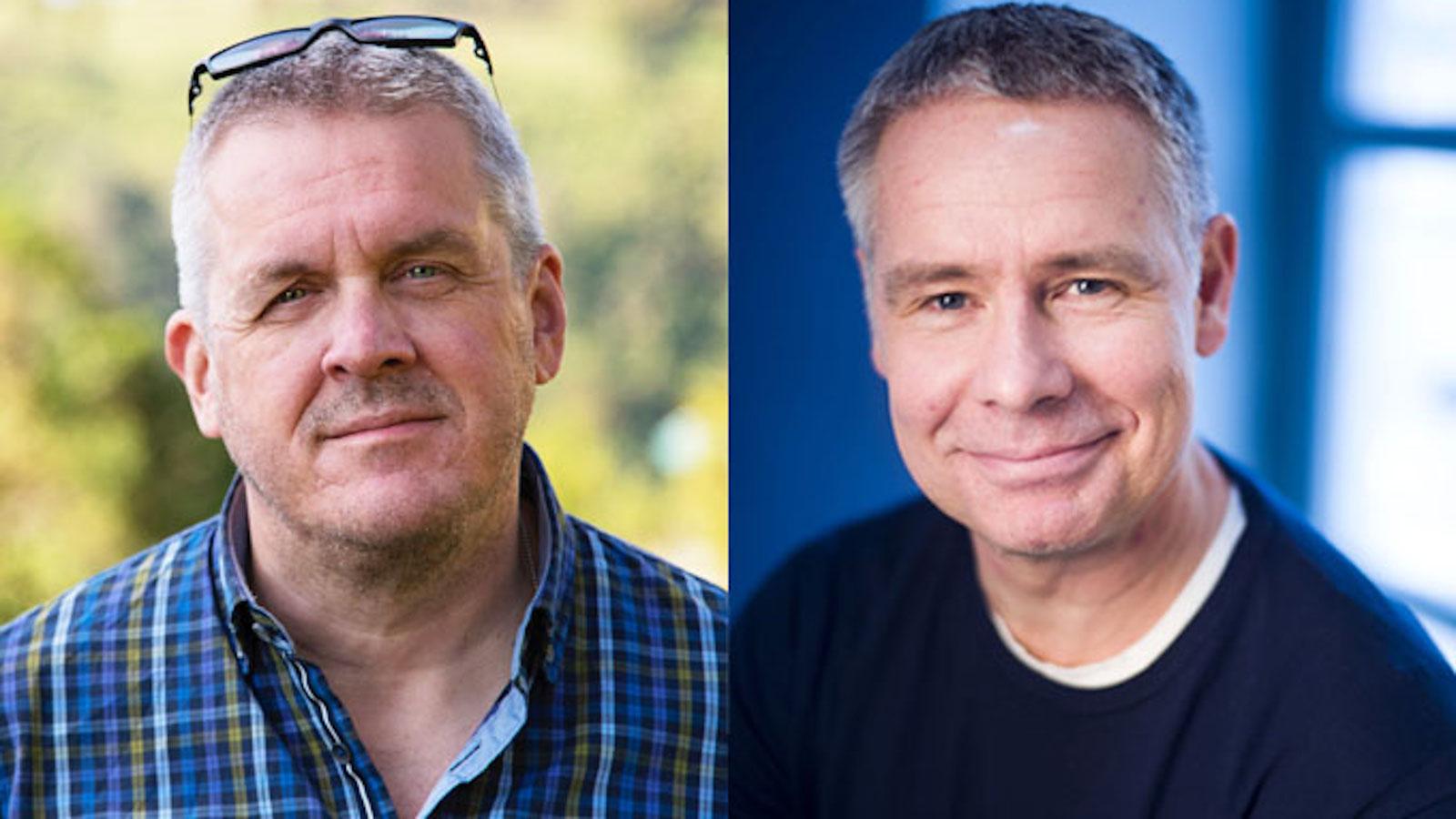 Kuvassa on kasvokuvat Marko Latvalasta ja Saku Tuomisesta.